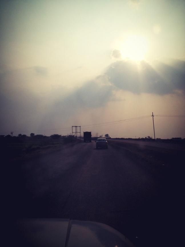 dusk, drive, highway, Pune, mumbai